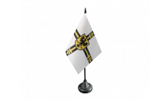Teutonic Knights Table Flag - 3.95 x 5.9 inch