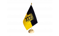Germany Baden-Württemberg Table Flag