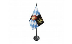 Germany Electorate of Bavaria 1623-1806 Table Flag - 3.95 x 5.9 inch