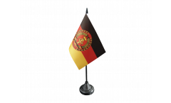 Germany GDR National People's Army Table Flag - 3.95 x 5.9 inch
