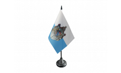 Germany Kingdom of Bavaria 1806-1918 Table Flag - 3.95 x 5.9 inch