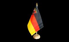 Germany Rhineland-Palatinate Table Flag