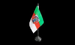Germany Aschaffenburg Table Flag