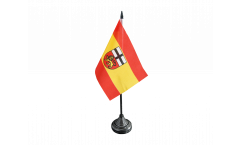 Germany Bonn Table Flag - 3.95 x 5.9 inch