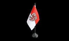 Germany Braunschweig Table Flag - 3.95 x 5.9 inch