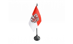 Germany Braunschweig Table Flag