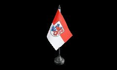 Germany Düsseldorf Table Flag - 3.95 x 5.9 inch