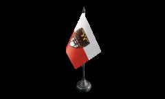 Germany Duisburg Table Flag - 3.95 x 5.9 inch