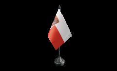 Germany Frankfurt Table Flag - 3.95 x 5.9 inch