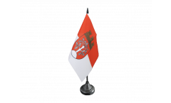 Germany Herdecke Table Flag - 3.95 x 5.9 inch