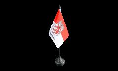 Germany Hohenlimburg Table Flag