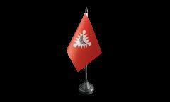 Germany Kiel Table Flag - 3.95 x 5.9 inch