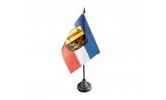 Germany Mannheim Table Flag