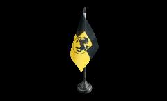 Germany Stuttgart Table Flag - 3.95 x 5.9 inch