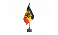 Germany Weimar Table Flag - 3.95 x 5.9 inch