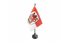 Germany Wuppertal Table Flag - 3.95 x 5.9 inch