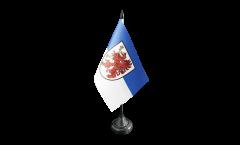 Germany West Pomerania Table Flag