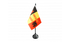 Fan Belgium Rode Duivels Table Flag - 3.95 x 5.9 inch