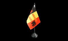 Fan Belgium Rode Duivels Table Flag