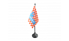 Fan Croatia HRVATSKA! Table Flag - 3.95 x 5.9 inch