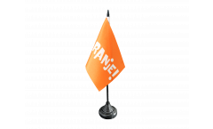 Fan Netherlands ORANJE! Table Flag - 3.95 x 5.9 inch