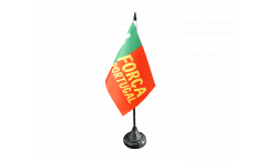 Fan Portugal Forca Table Flag - 3.95 x 5.9 inch