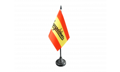 Fan Spain Campeones Table Flag - 3.95 x 5.9 inch