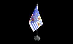 France Évry Table Flag - 3.95 x 5.9 inch