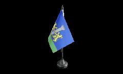 France Ajaccio Table Flag - 3.95 x 5.9 inch