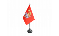 France Albi Table Flag - 3.95 x 5.9 inch
