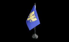 France Alençon Table Flag - 3.95 x 5.9 inch