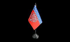 France Amiens Table Flag - 3.95 x 5.9 inch