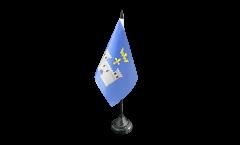 France Angoulême Table Flag - 3.95 x 5.9 inch