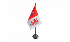 France Auch Table Flag - 3.95 x 5.9 inch