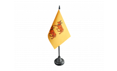 France Béarn Table Flag - 3.95 x 5.9 inch