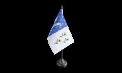 France Bar-le-Duc Table Flag - 3.95 x 5.9 inch