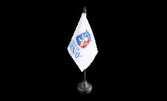 Tischflagge Frankreich Bernay - 10 x 15 cm