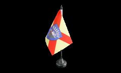 France Bobigny Table Flag - 3.95 x 5.9 inch