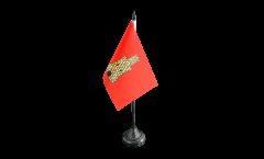 France Caen Table Flag - 3.95 x 5.9 inch