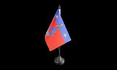 France Cergy Table Flag - 3.95 x 5.9 inch