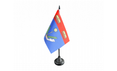 France Charleville-Mézières Table Flag - 3.95 x 5.9 inch