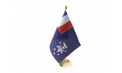 France French meridional and antarctic territories Table Flag
