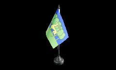 France Guéret Table Flag - 3.95 x 5.9 inch