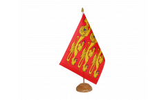 France Upper Normandy, treis cats Table Flag