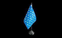 France Fleur-de-lis, blue Table Flag