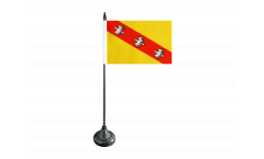 France Lorraine Table Flag