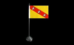 France Lorraine Table Flag - 5.9 x 8.65 inch
