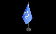 France Mont-de-Marsan Table Flag - 3.95 x 5.9 inch