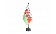France Nantes Table Flag - 3.95 x 5.9 inch