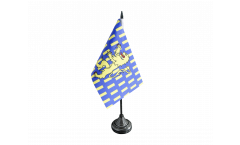 France Nevers Table Flag - 3.95 x 5.9 inch
